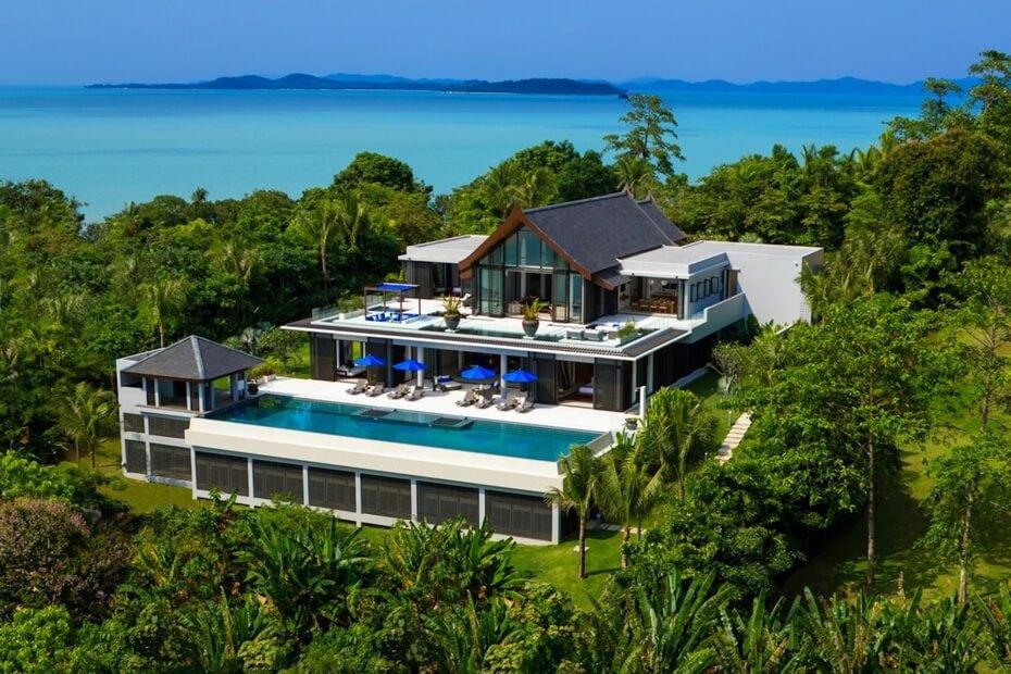 Thailand villa sales land